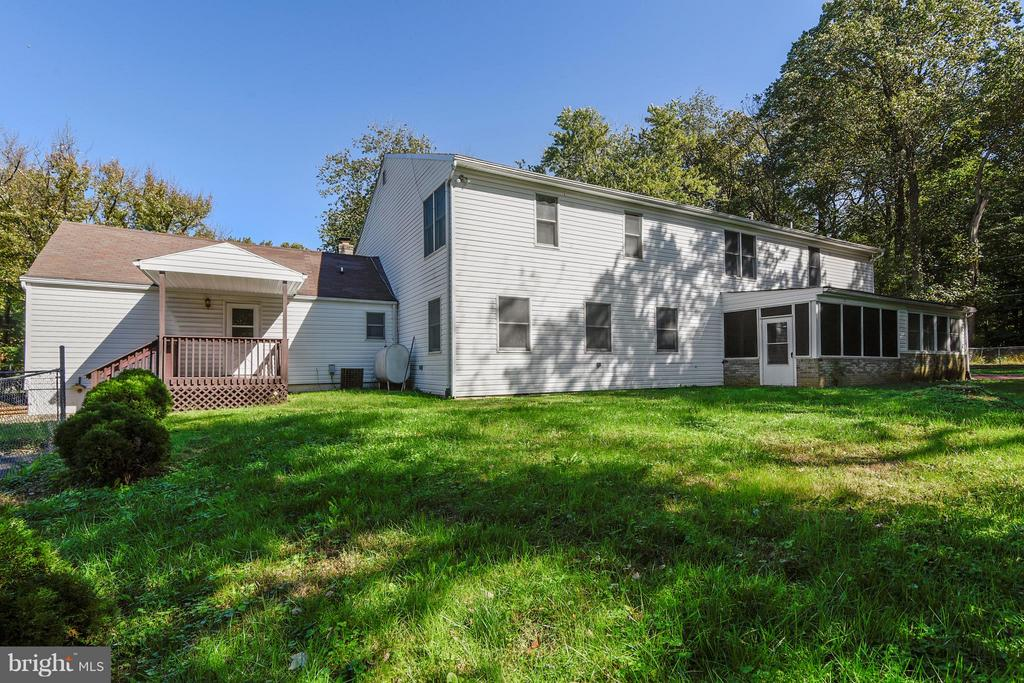 Rear View with Separate Driveway and Entrance - 1341 GORDON LN, MCLEAN
