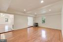 Den View to Great Room - 1341 GORDON LN, MCLEAN
