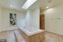 Mstr Suite Bath w/Walk-in Shower and Jacuzzi Tub - 1341 GORDON LN, MCLEAN