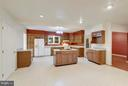 Kitchen with Stove and Cooktop - 1341 GORDON LN, MCLEAN