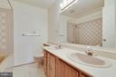 In-Law Suite Bath w/Jacuzzi Tub - 1341 GORDON LN, MCLEAN