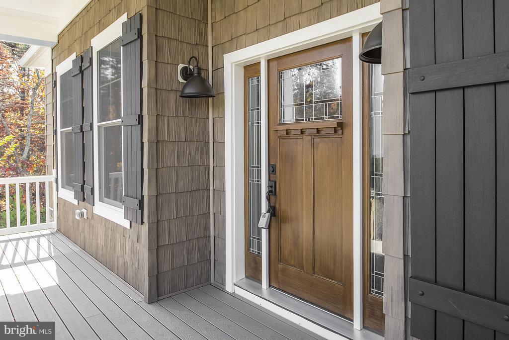Craftsman Styling and Composite Porch Flooring - 10918 COBBLE RUN, SPOTSYLVANIA