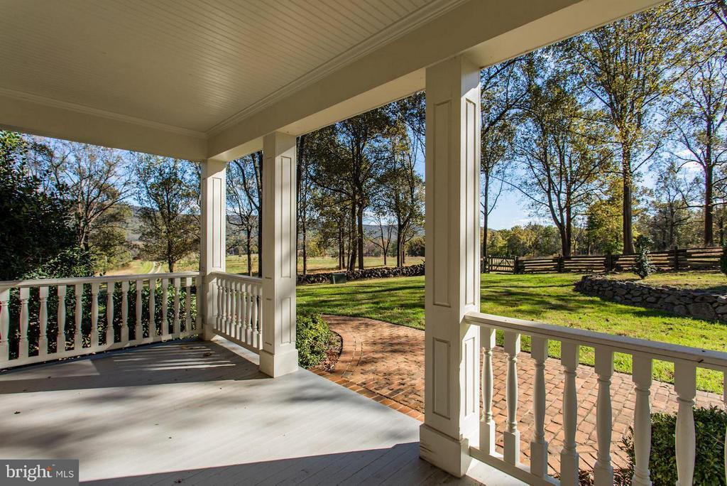 Walkout of Library to Side Porch - 12717 HARPERS FERRY RD, PURCELLVILLE