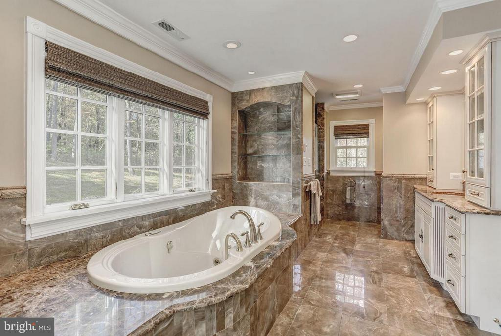 Master Bath with Soaking Tub and Shower - 12717 HARPERS FERRY RD, PURCELLVILLE
