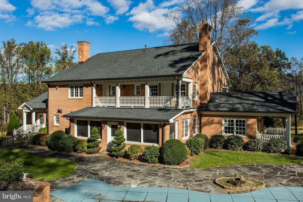 Private Pool area with Stone Patio - 12717 HARPERS FERRY RD, PURCELLVILLE