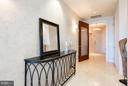 Private Elevator Entry Foyer - 1881 N NASH ST #2102, ARLINGTON