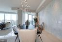 Light Filled Dining Area w/Custom Lighting - 1881 N NASH ST #2102, ARLINGTON