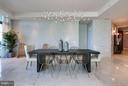 Dining Room w/Custom Lighting - 1881 N NASH ST #2102, ARLINGTON