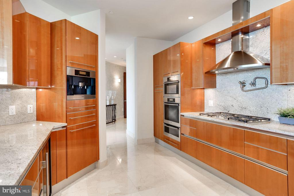 Pristine Kitchen w/High End Cabinetry - 1881 N NASH ST #2102, ARLINGTON