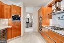 Kitchen w/Built-In Espresso Machine & Wine Cooler - 1881 N NASH ST #2102, ARLINGTON