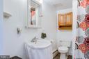 Full bath on main floor - 3667 WOLFTOWN HOOD RD, MADISON