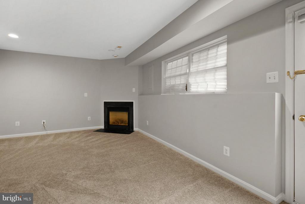 Den with Gas Fireplace and Patio/ Outside Access - 24643 CLOCK TOWER SQ, ALDIE