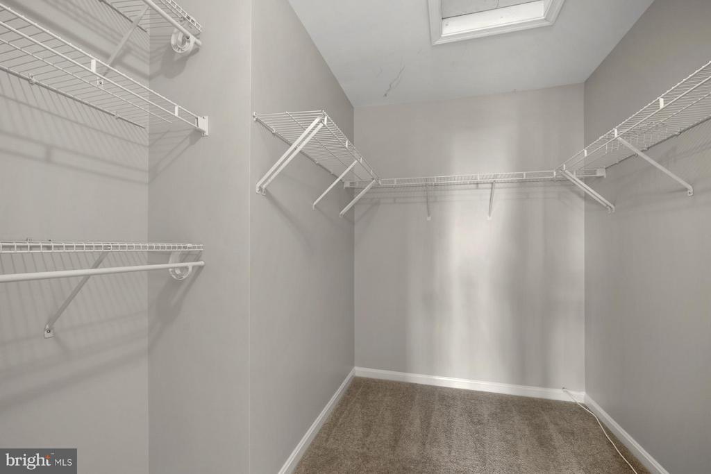 Large Walk in Closet in Master Bedroom - 24643 CLOCK TOWER SQ, ALDIE