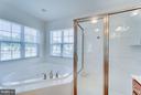 Separate Double Shower - 1005 JULIAS PL, FREDERICKSBURG