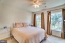 Bedroom 2 with Ceiling Fan - 1005 JULIAS PL, FREDERICKSBURG