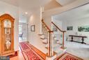 Hardwood Foyer Entry and Upgraded Staircase - 1005 JULIAS PL, FREDERICKSBURG