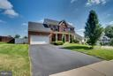 Landscaped yard and sidewalks! - 1005 JULIAS PL, FREDERICKSBURG