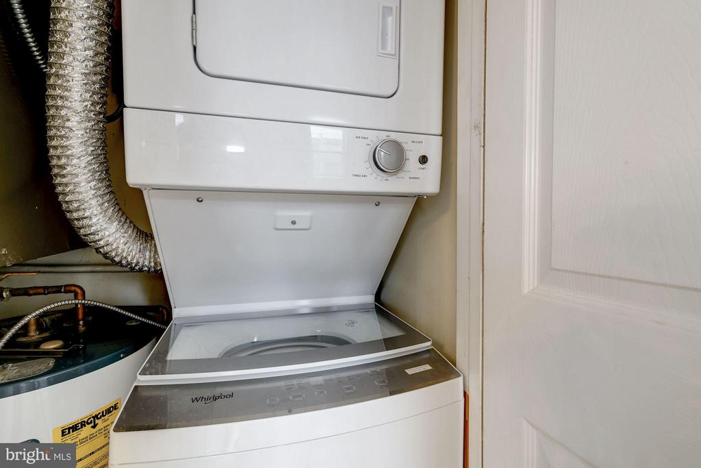 NEW Stacked Washer and Dryer in Unit - 330 RHODE ISLAND AVE NE #307, WASHINGTON