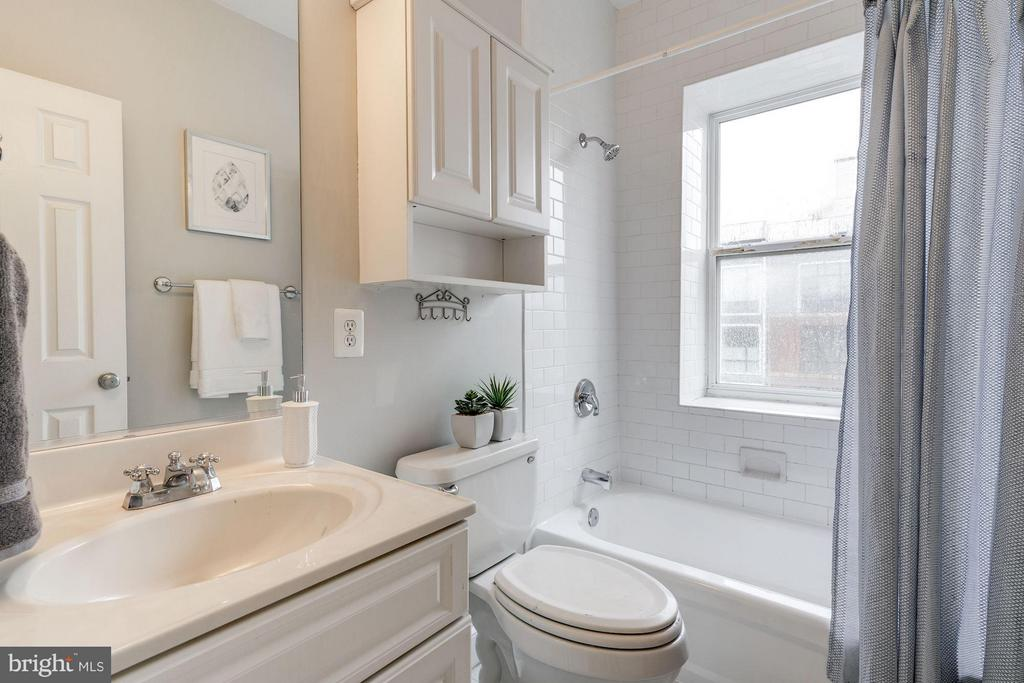 Bath located outside Primary Bedroom - 330 RHODE ISLAND AVE NE #307, WASHINGTON