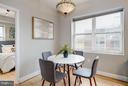 Plenty of Room for Separate DIning Table - 330 RHODE ISLAND AVE NE #307, WASHINGTON