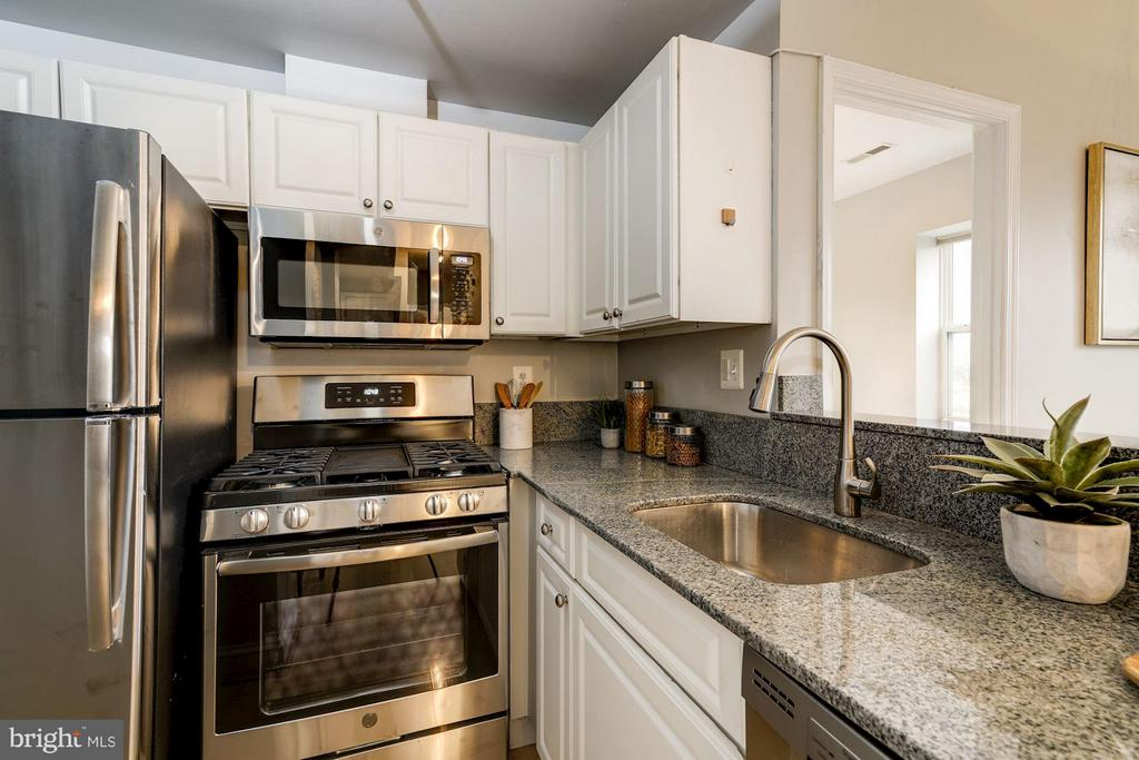Granite Counters and Good Storage - 330 RHODE ISLAND AVE NE #307, WASHINGTON