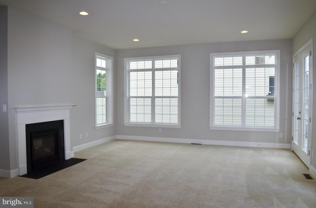 Family Room - 10629 SMITH POND LN #15, MANASSAS