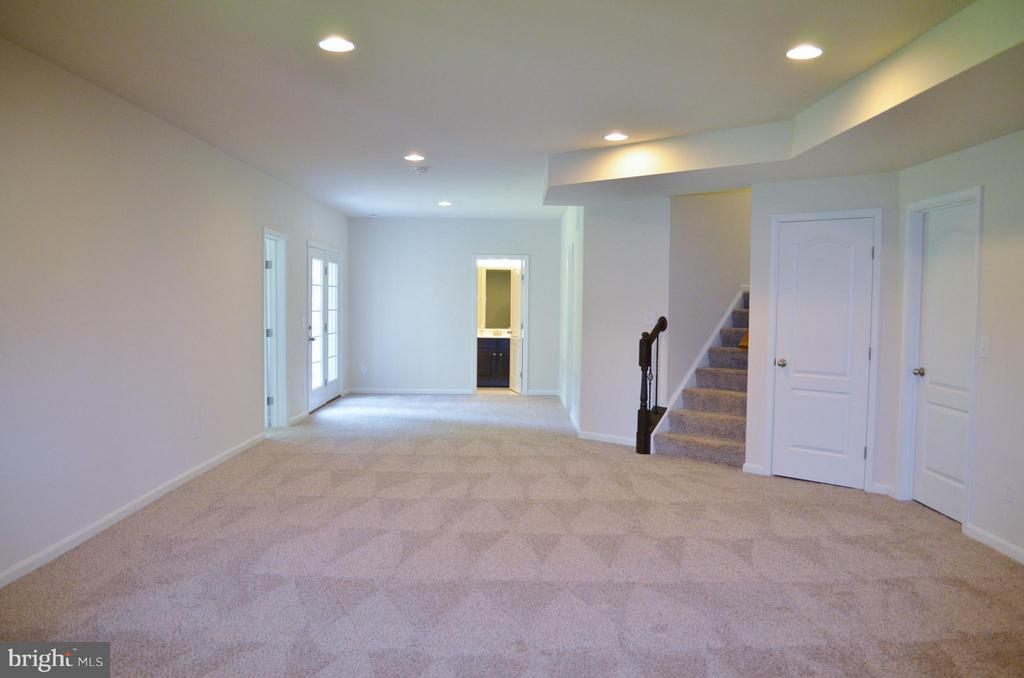 Basement Rec Room - 10629 SMITH POND LN #15, MANASSAS