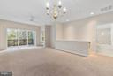 Living Room/Dining Room Combination - 43 LEGEND DR, FREDERICKSBURG