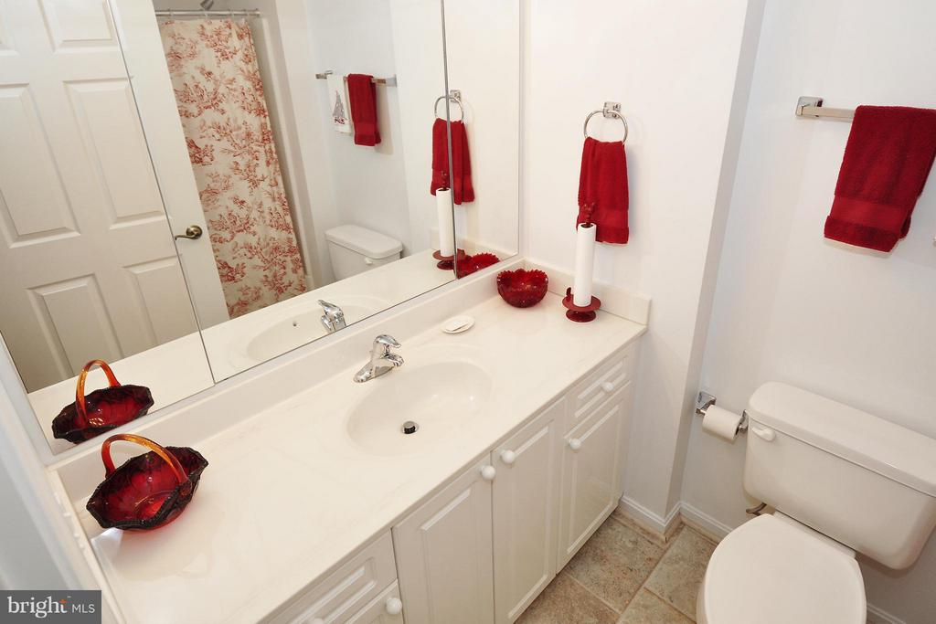 Bath  Guest bathroom - 19350 MAGNOLIA GROVE SQ #112, LEESBURG