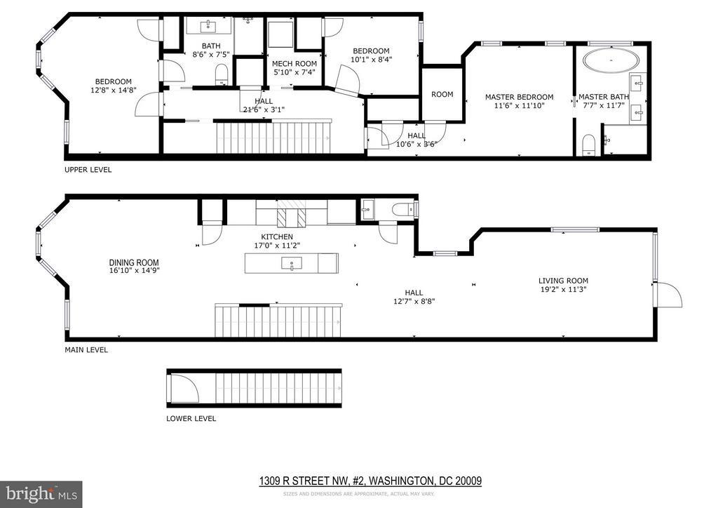 Floor Plans - 1309 R ST NW #2, WASHINGTON