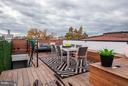 Private Rooftop Deck - 1309 R ST NW #2, WASHINGTON