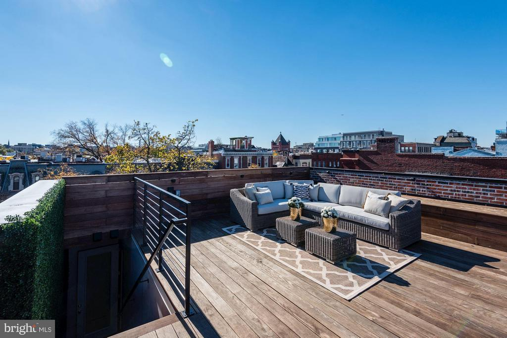 Private Rooftop Deck - 1313 R ST NW #2, WASHINGTON
