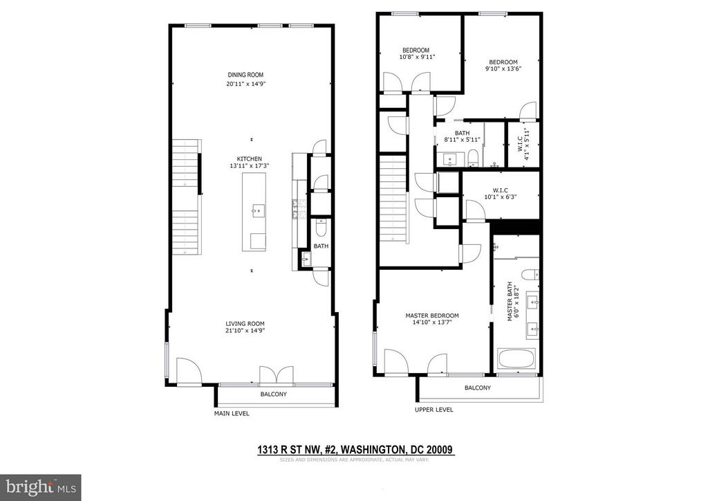 Floor Plans - 1313 R ST NW #2, WASHINGTON
