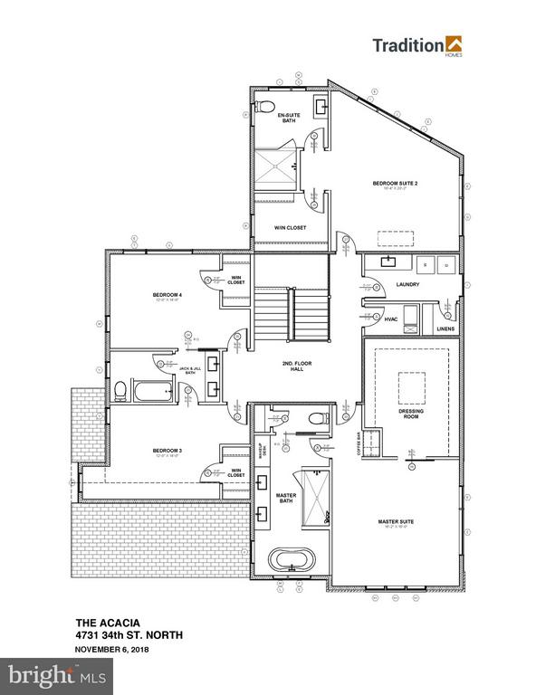 Upper Level Floor Plan - 4731 34TH ST N, ARLINGTON