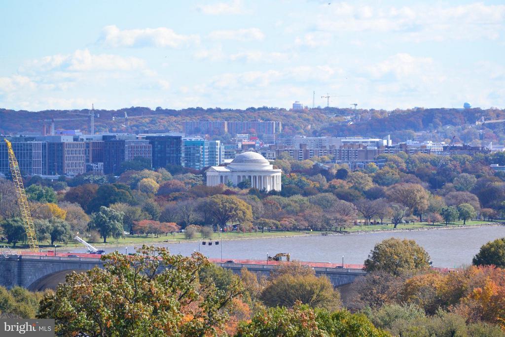 View of Jefferson Memorial - 1412 N MEADE ST, ARLINGTON