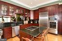 Gourmet Kitchen w/ Island - 1412 N MEADE ST, ARLINGTON