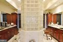 Master Bathroom w/ Dual Vanities & Overized Shower - 1412 N MEADE ST, ARLINGTON