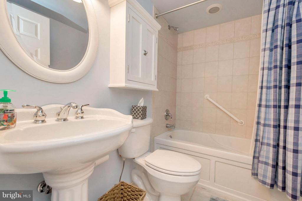 Bath with jetted tub - 308 MT PLEASANT DR, LOCUST GROVE