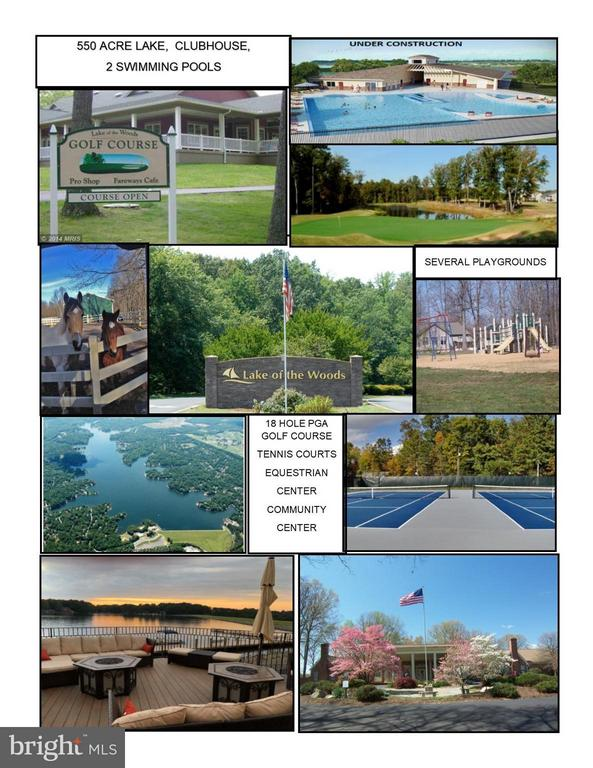 Amenity Rich Lake of the Woods subdivision - 208 CREEKSIDE DR, LOCUST GROVE