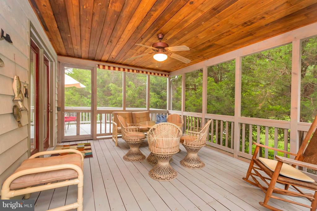 Fabulous screened in porch - 308 MT PLEASANT DR, LOCUST GROVE