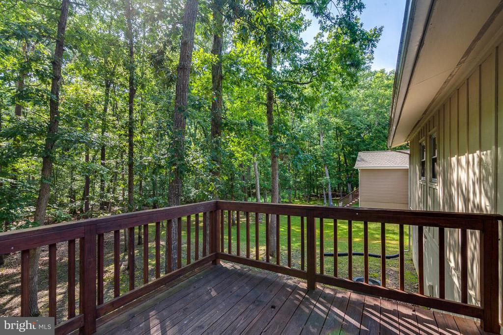 Outdoor Living Deck - 208 CREEKSIDE DR, LOCUST GROVE