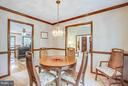 Formal dining - 303 GOLD VALLEY RD, LOCUST GROVE