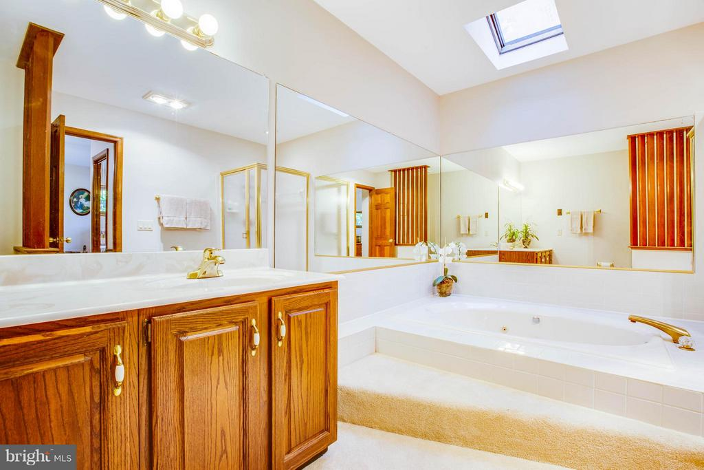 Luxurious master en suite bath. - 303 GOLD VALLEY RD, LOCUST GROVE