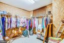 Large cedar closet in basement for extra clothes. - 303 GOLD VALLEY RD, LOCUST GROVE