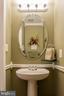 Main level half bath - 4081 CARDINAL CREST DR, WOODBRIDGE