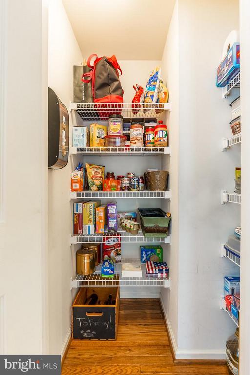 Walk-in pantry - 4081 CARDINAL CREST DR, WOODBRIDGE
