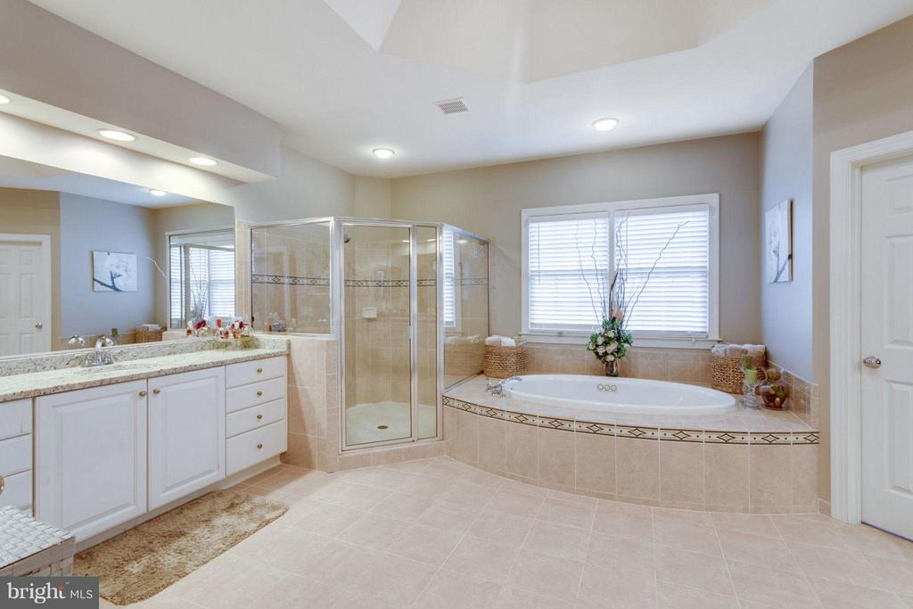 His and her  sink - 12253 TIDESWELL MILL CT, WOODBRIDGE
