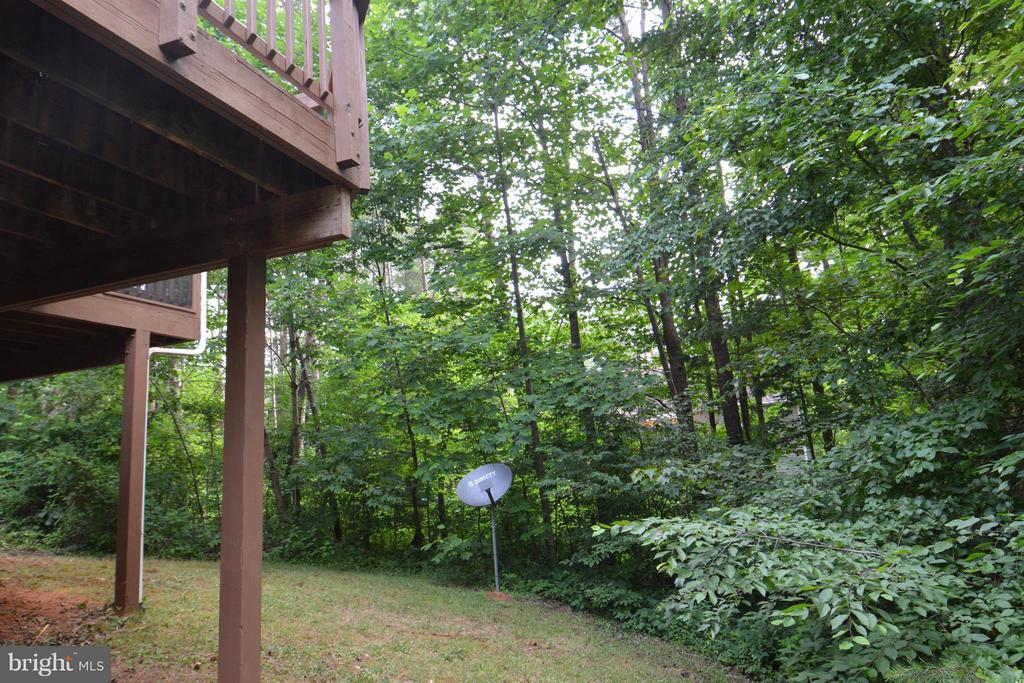 Backyard - 307 STRATFORD CIR, LOCUST GROVE