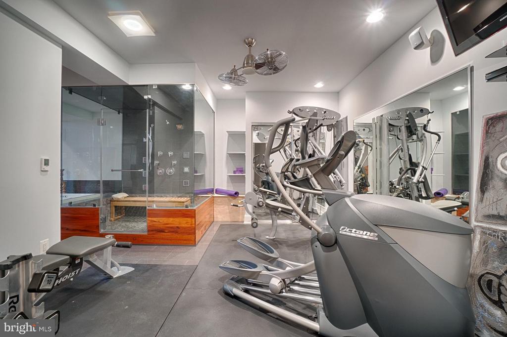 Gym Area - 40600 OPAL CT, LEESBURG