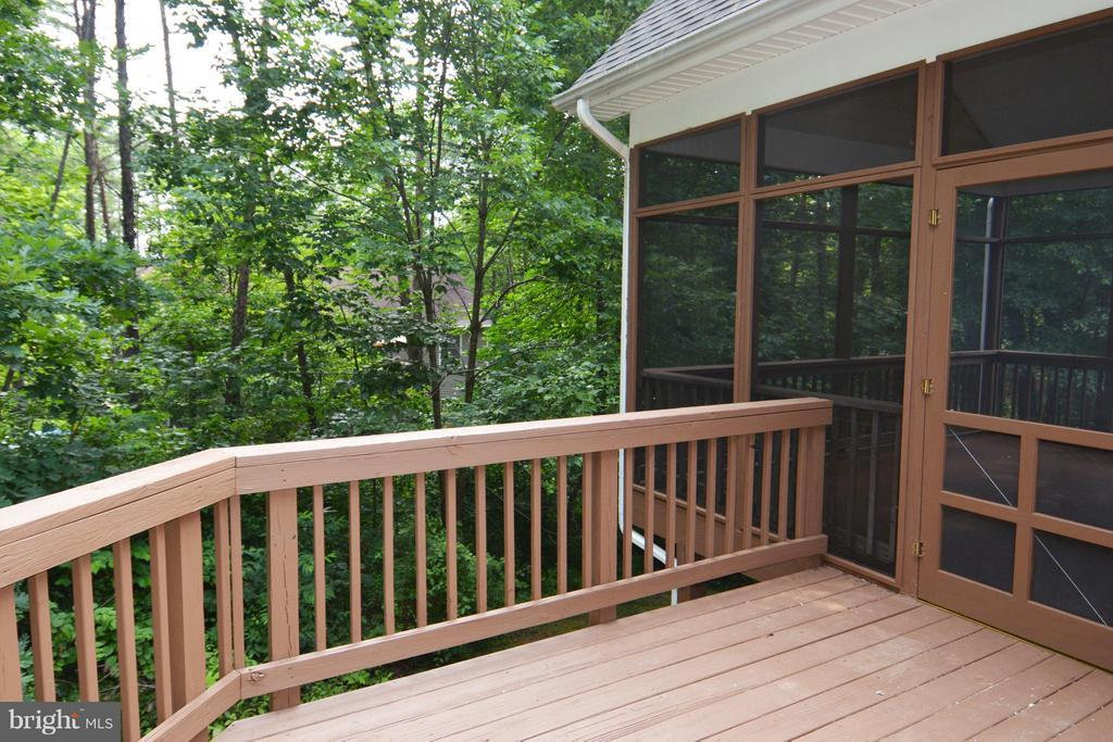 Rear Deck - 307 STRATFORD CIR, LOCUST GROVE